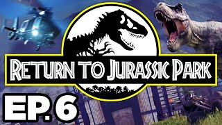 Return to Jurassic Park Ep.6 - • RELEASING SPINOSAURUS & APATOSAURUS DINOSAURS! (Gameplay Lets Play)