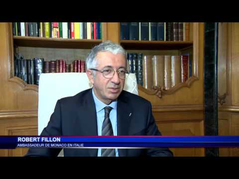 Robert Fillon explique le rôle l'ambassade de Monaco en Italie