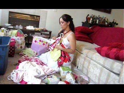 Organizing Baby Clothes! – September 07, 2012 – itsJudysLife Vlog