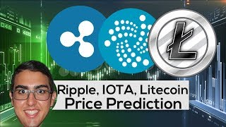 Price Predictions - Ripple ($XRP), IOTA ($IOT), and Litecoin ($LTC)!