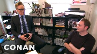 Video Conan Gives Staff Performance Reviews  - CONAN on TBS MP3, 3GP, MP4, WEBM, AVI, FLV Februari 2018