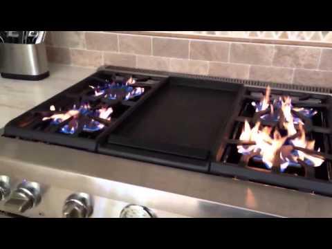 Thermador stove incorrect orifice