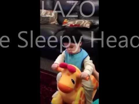 funny sleepy baby