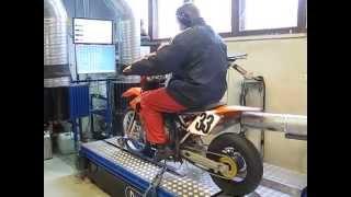 9. KTM 85 cc MotoProjekt dyno