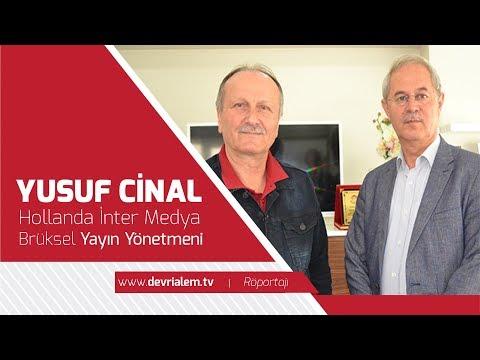 İnter Media Bruxelles Yayınları Yönetmeni Yusuf Cinal