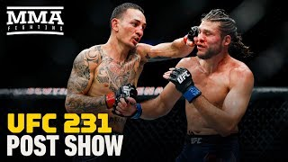 Video UFC 231 Post-Fight Show - MMA Fighting MP3, 3GP, MP4, WEBM, AVI, FLV Desember 2018