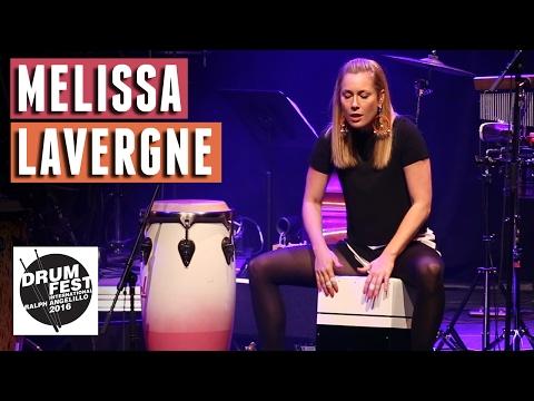 Mélissa Lavergne (Cajon) - 2016 Drum Festival International Ralph Angelillo