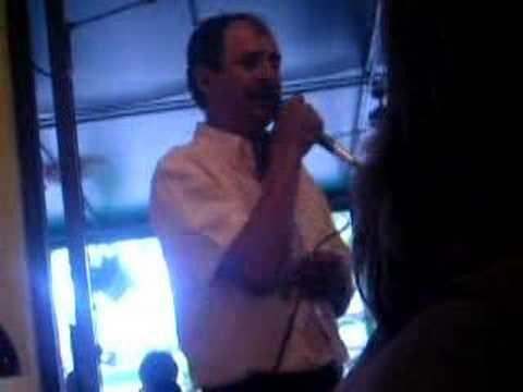 Columbian Guy Singing at Restaurant