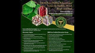 DEM Pure  Online Educational Series on Healthy Mind, Body and Soil by Bubbleman's World