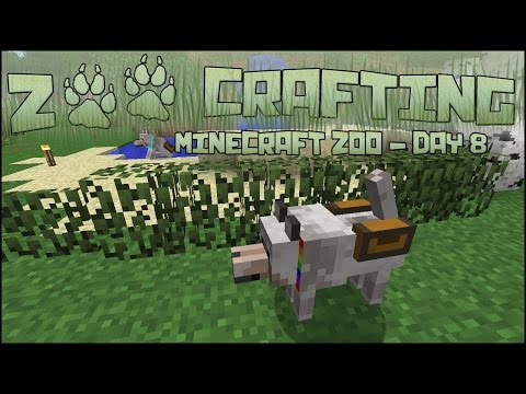 Oh Iris, Your Tail! 🐘 Zoo Crafting: Season 2 - Episode #8