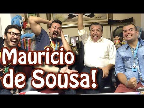 Um papo com Mauricio de Sousa! | Matando Robôs Gigantes