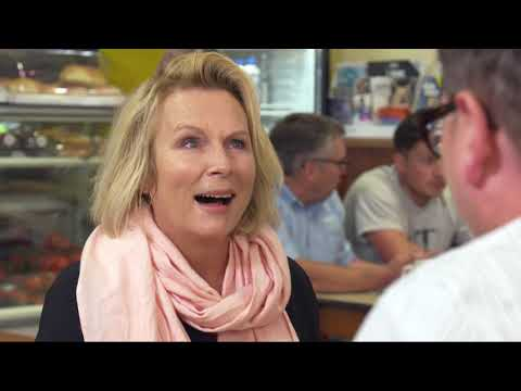 Jennifer Saunders recreates the fake orgasm scene from When Harry Met Sally : Video 2019 :     Chortle : The UK Comedy Guide