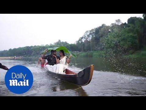 Πήγαν να φιληθούν και... έπεσαν στο ποτάμι
