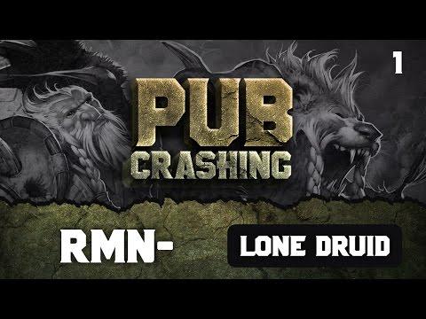 Pubs Crashing: rmN- on Lone Druid vol.1