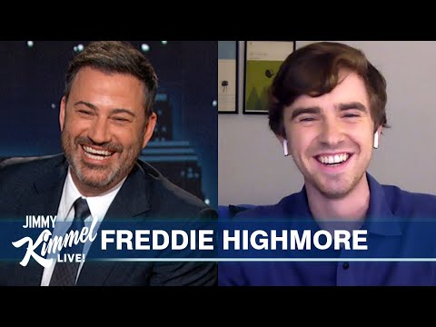 Freddie Highmore on Quarantine Beard, COVID Tests & The Good Doctor