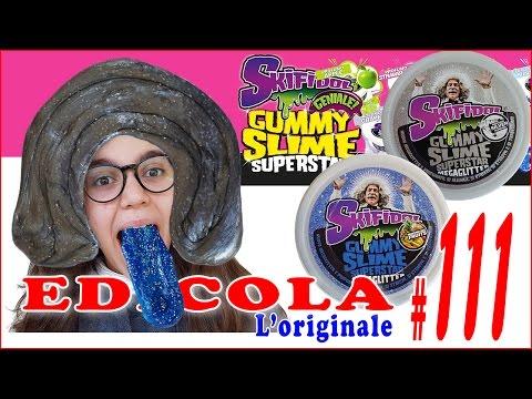 EDICOLA #111: SKIFIDOL GUMMY SLIME SUPERSTAR MEGAGLITTER (by Giulia Guerra) (видео)