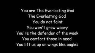 Everlasting God (with lyrics)