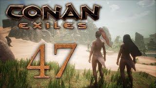 Conan Exiles — Собираем квестовый камушек, пинаем босса крокодила [#47] | PC