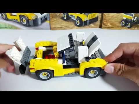 Lego Creator Fast Car 31046 3in1