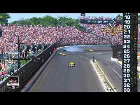 Indy 500 2014 Highlights