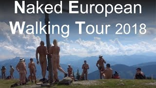 Naked European Walking Tour (NEWT) 29 July 2018 Hospitality am Gasthof
