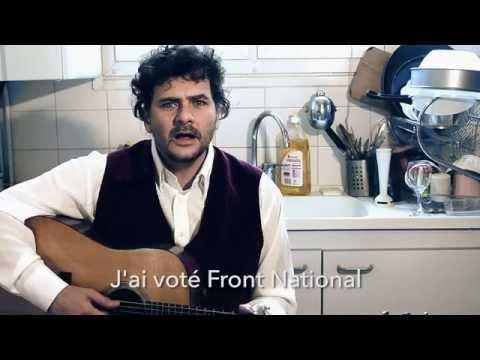 """Gilles Roucaute : """"J'ai voté Front National"""", une chanson qui dérange les extrémistes"""