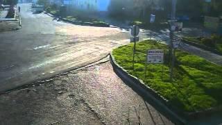 Перекрёсток в Щёлкино, 20.11.2013 - time-lapse с камеры 2