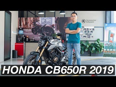 Chi tiết Honda CB650R 2019 - thiết kế hầm hố, nâng cấp tính năng và động cơ | Xe.Tinhte.vn - Thời lượng: 4 phút, 20 giây.