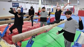 Video GYMNASTICS BLINDFOLDED! (DANGEROUS) MP3, 3GP, MP4, WEBM, AVI, FLV Juni 2018