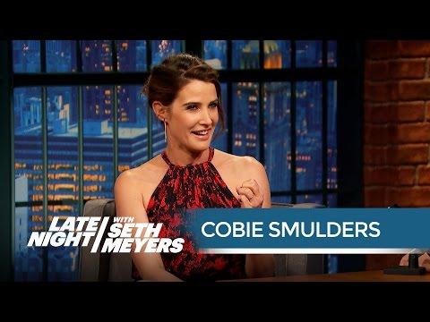 Cobie Smulders' Husband Taran Killam Is an Avengers Superfan - Late Night with Seth Meyers