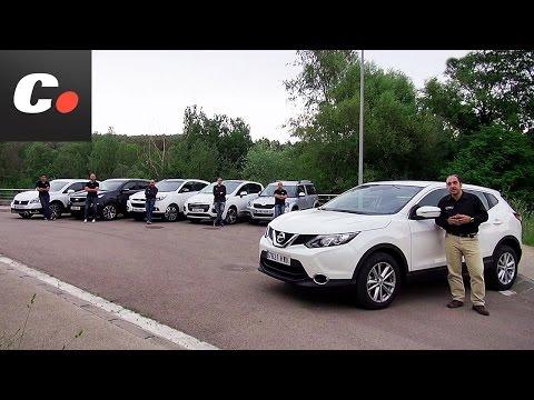 Prueba comparativa SUV coches.net: Nissan Qashqai, ix35, Sportage, 3008, SX4, Yeti – Test / Review