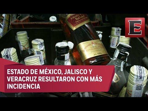 Cofepris asegura 5 millones de litros de bebidas alcohólicas adulteradas desde 2013