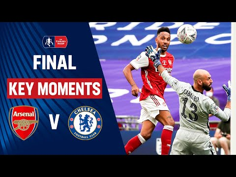 Arsenal vs Chelsea | Key Moments | Final | Heads Up FA Cup Final 19/20