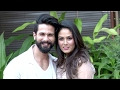 Shahid Kapoor's CUTE Moments With Wife Meera Rajput On His Birthday 2017