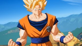 Dragon Ball FighterZ - Goku (Super Saiyan) vs Clone Goku - Story Battle 2 (PS4 HD) [1080p60FPS]