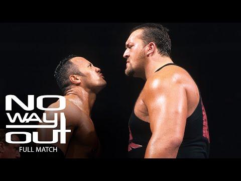 FULL MATCH - The Rock vs. Big Show: WWE No Way Out 2000