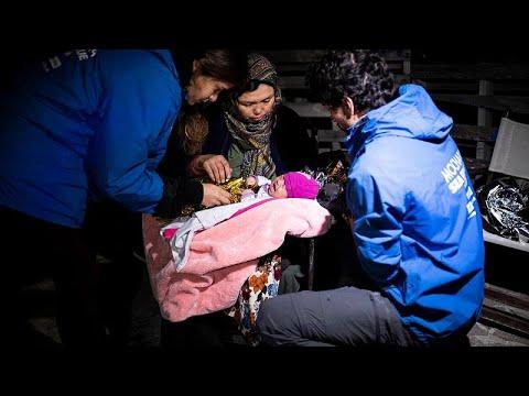 Λέσβος: Διεσώθη βρέφος 20 ημερών
