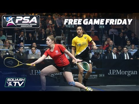 Squash: Evans v El Welily - Free Game Friday - Tournament of Champions 2018