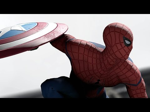 captain america civil war - c'è anche spider-man!