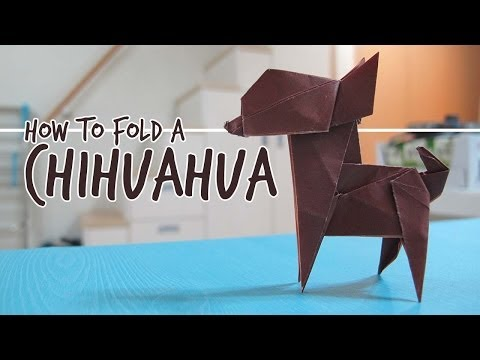 How to Fold an Origami Dog – Chihuahua (Fuchimoto Muneji)