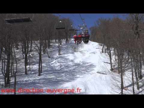 Sur les pistes de ski de Besse Super Besse