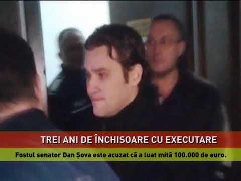 Fostul senator Dan Şova, condamnat definitiv la trei ani de închisoare cu executare în dosarul CET Govora