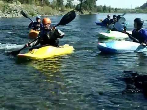 Intro White Water Kayaking Course # 1 2012