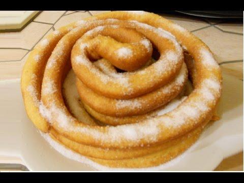 le frittelle lunghe sarde di carnevale - la video ricetta