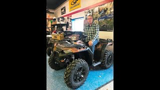 1. 2018 Polaris Sportsman XP 1000 Matte Copper LE
