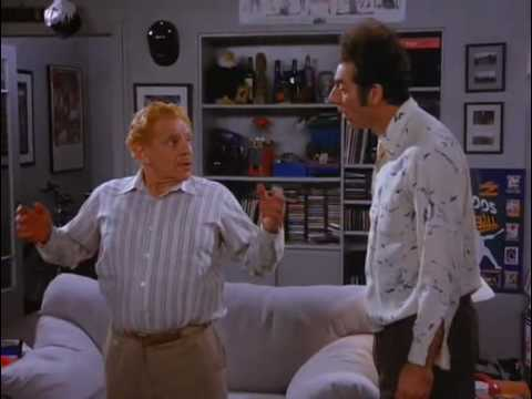 Indigoblue25 - 8th video of Seinfeld's Cosmo Kramer invention... a brassiere for men!