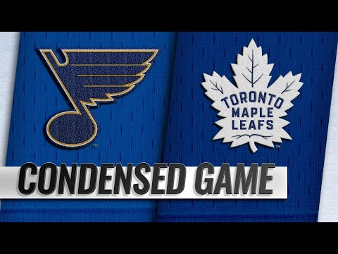 Video 10/20/18 Condensed Game: Blues @ Maple Leafs download in MP3, 3GP, MP4, WEBM, AVI, FLV January 2017