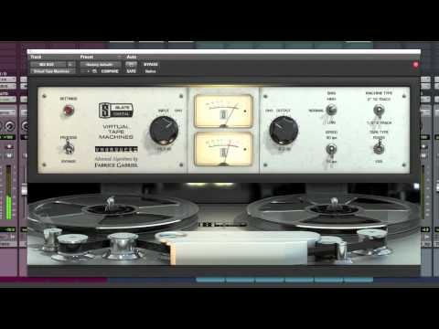 Slate Digital Virtual Tape Machines Plugin Review – TheRecordingRevolution.com