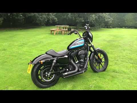 Ex demonstrator XL1200NS Sportster Iron 1200 Full Stage One 2018