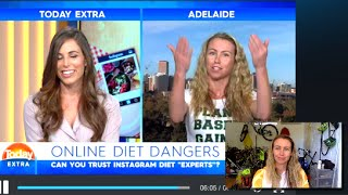 I debate with Dietitian on LIVE TV this morning - My reaction
